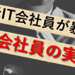 【実話】IT会社員コミュ障だし出会いないし、給与低いからやめておけ!